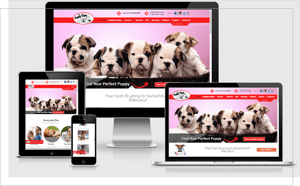 The Puppy Store - Portfolio